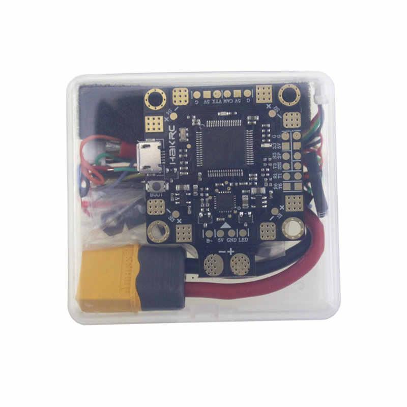 HAKRC BF3.2 F4 controlador de vuelo 2-4 S integrado Betaflight OSD AP medidor de corriente para RC Multicopter marco DIY parte