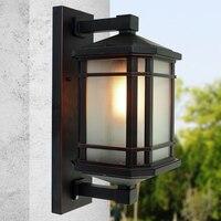Китайский стиль наружный водостойкий настенный светильник Les Loges Du Park Hotel Дверь двор и балкон настенный светильник Z123409