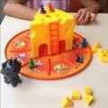 Desenvolvimento da inteligência da Criança desktop brinquedos do gato do rato bolo queijo pai-filho brinquedos educativos Brinquedos presentes de Natal Da Família