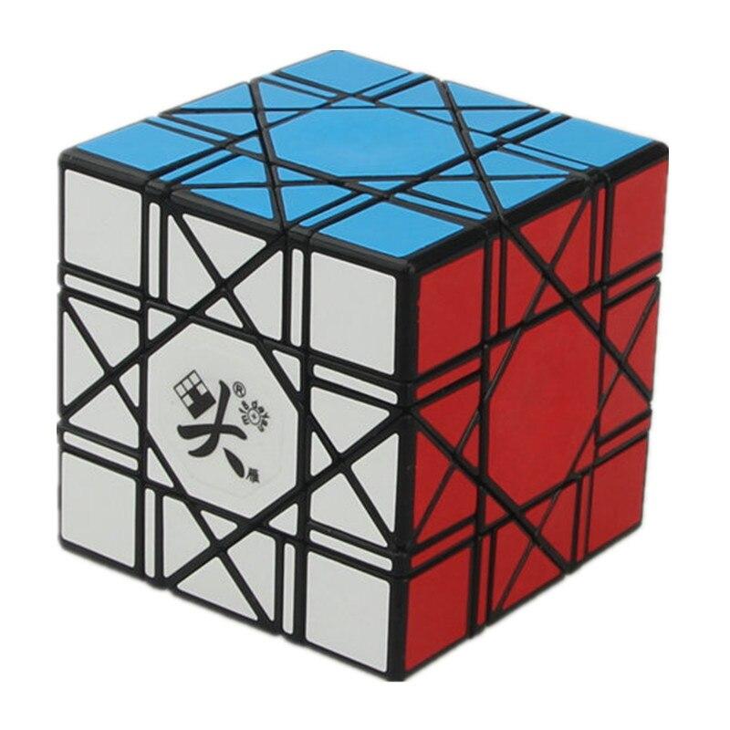 Nouveauté DaYan Bagua Cube magique vitesse Cube 6 axes 8 rang noir blanc vitesse Puzzle Cubes jouets pour enfants cadeaux de noël