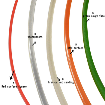 Correa de transmisión de PU de 16mm, correa redonda de poliuretano para transportadores, máquina de unión, secador