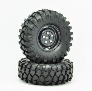 "Image 2 - 1:10 rc 크롤러 자동차 용 1.9 ""108mm 타이어 및 휠 axial scx10 d90"