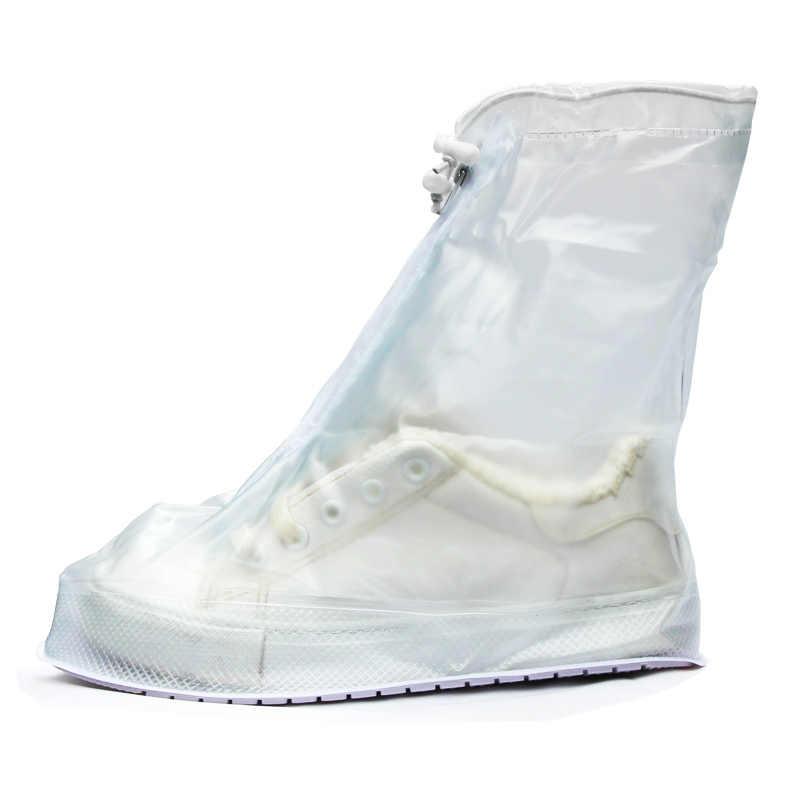 Phụ nữ và Nam Giới Giày Đi Mưa Bao Chống Nước Có Thể Tái Sử Dụng Tuyết Mưa Giày Bảo Vệ Chống Thấm Nước Giày Dép Trên Giày