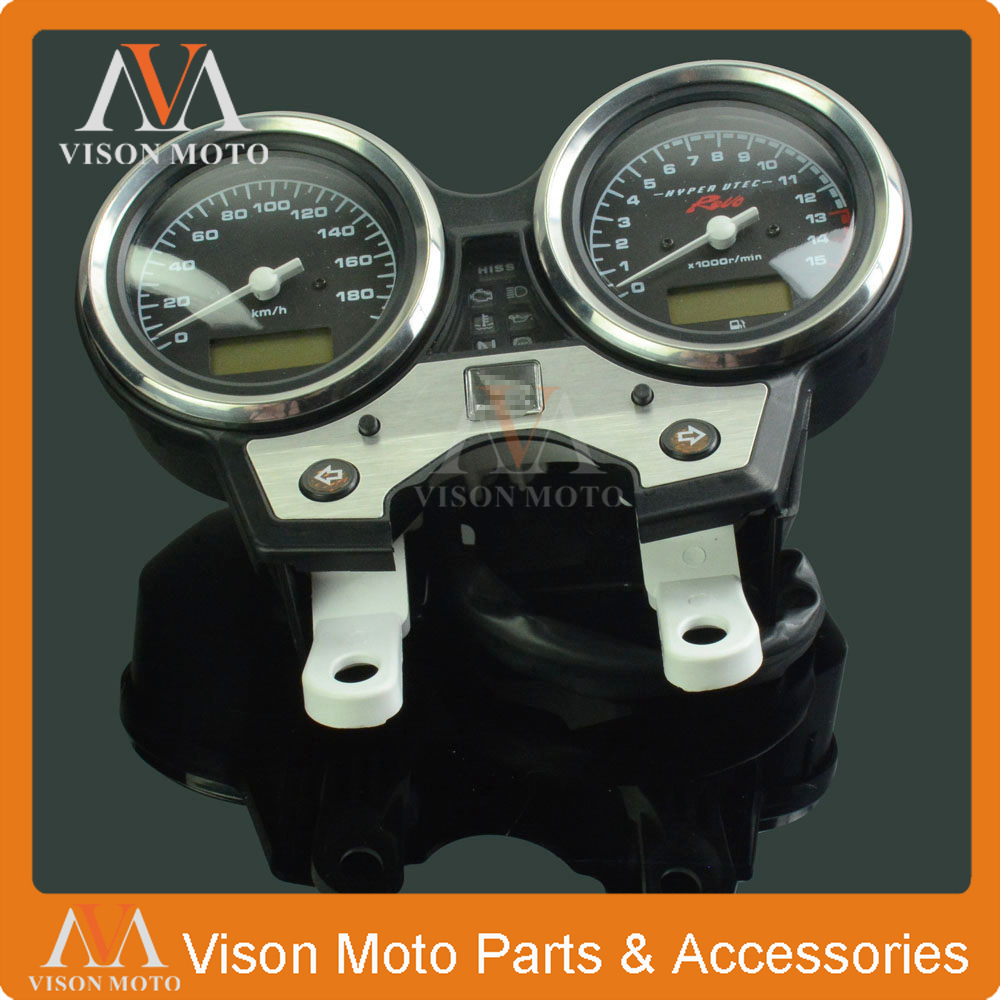 Motorcycle Speedometer Clock Instrument Gauges Odometer Tachometer For HONDA CB400 VTEC IV 2008 2009 2010 2011 2012 motorcycle anti crash device guards front protector fence bumper front side frame for honda cb400 vtec 1999 2012 2011 2010 2009