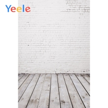 Yeele Brick Wall Wooden Floor Baby Doll Party Portrait Child Scene Photography Backgrounds Vinyl Backdrop Props For Photo Studio