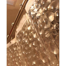 180 x 180cm Fashion 3D Water Cube Design Shower Curtain Bathroom Waterproof Fabric Newest