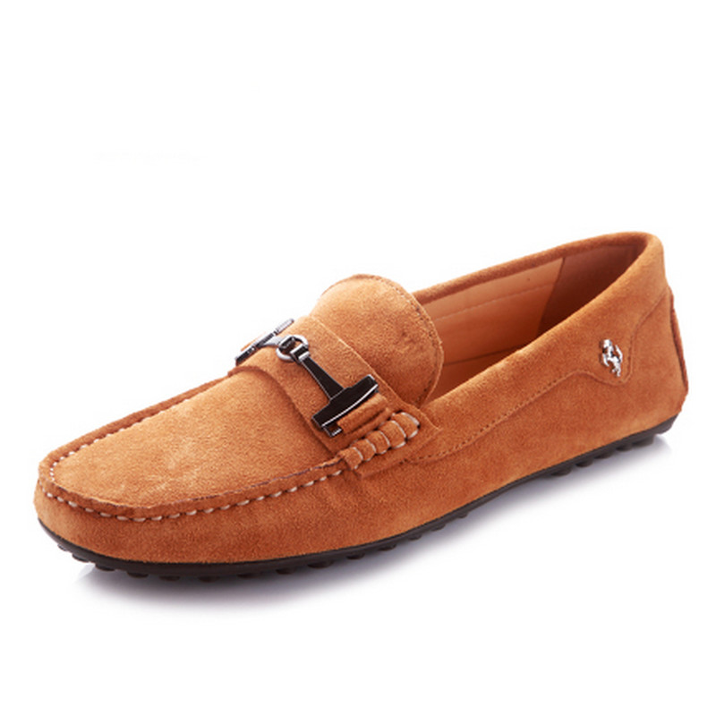 38-46 Plus Size Moccasins Men Comfortable Driving Slip On Genuine Leather Men Loafers High Quality