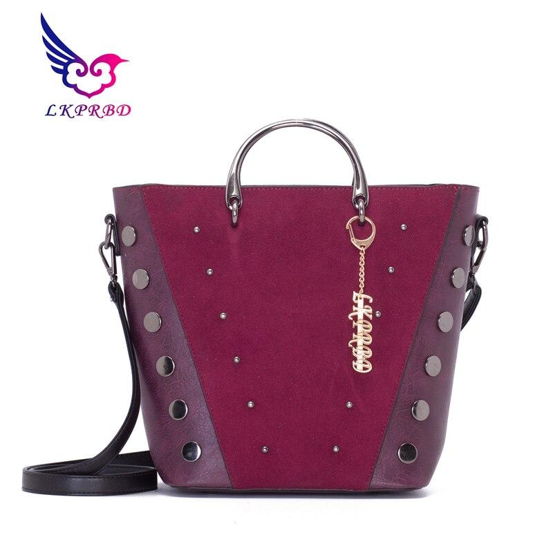 LKPRBD New pattern Superior quality brand FASHION With Luxury Handbags Women Designer High Leather Single shoulder slant ba