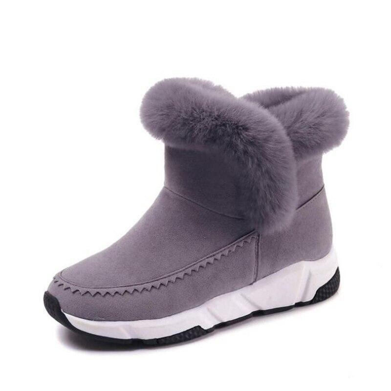 Women ankle boots 2018 fashion height increasing warm winter shoes flock women snow boots platform women boots botas de mujer l oreal professionnel оксидент крем 12% 1000 мл