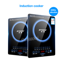 2200w Induction Cooker Home Intelligent Electric Furnace hot pot stove No Radiation Multi cooker Kitchen Cooking Tool 220V/50HZ