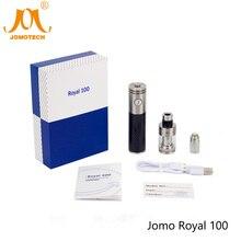 100% Original JomoTech Royal 100 Vaper Carbon Fiber 3ml 2200mah Battery 100W Vape Mod Electronic Cigarette Starter Kit Jomo-109