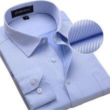 Плюс Размер Мужчины Платье Рубашки С Длинным Рукавом Твердые Бизнес Формальные Белый Мужчина Рубашки Моды Мужской Социальной Рубашки Большого Размера