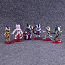 6PCS/SET Anime Dragon Ball Z Figure Freeza Freezer PVC Action Figure Resin Collection Model Doll Toy Gifts Doll brinquedos