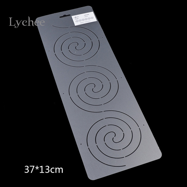 lychee diy semi transparent plastic quilting template quilt tools sewing tools accessory
