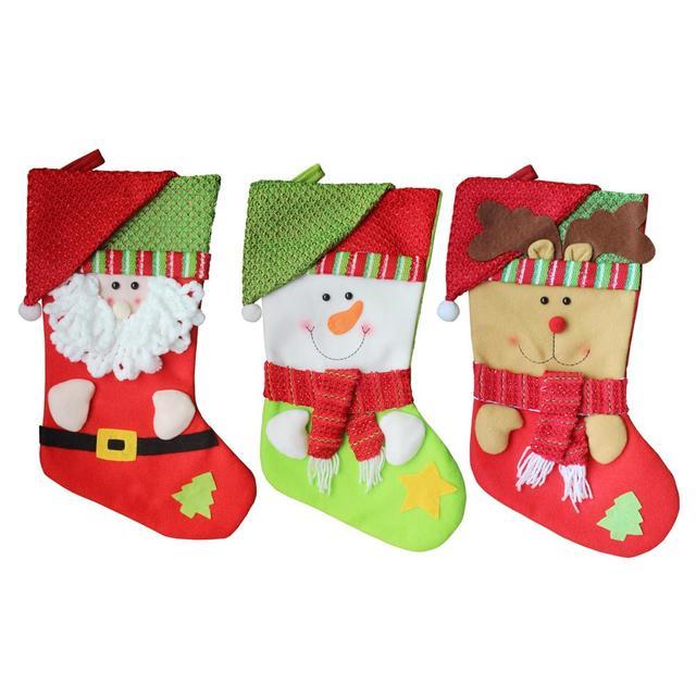 Us 515 Christmas Dekoracji Zawieszka Duża Boże Narodzenie Skarpety Dzieci Boże Narodzenie Prezent Torby Domu I Hotelu Przedmioty Dekoracyjne W