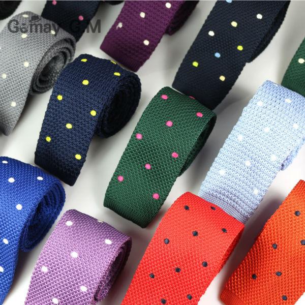 Corbatas finas tejidas de punto para hombres nuevos Corbatas de - Accesorios para la ropa - foto 3