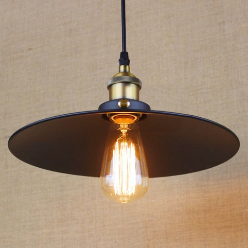 American Loft Style Iron Pendant Light Fixtures Industrial Vintage Lighting For Dining Room Hanging Lamp Lamparas Colgantes iwhd loft style creative retro wheels droplight edison industrial vintage pendant light fixtures iron led hanging lamp lighting