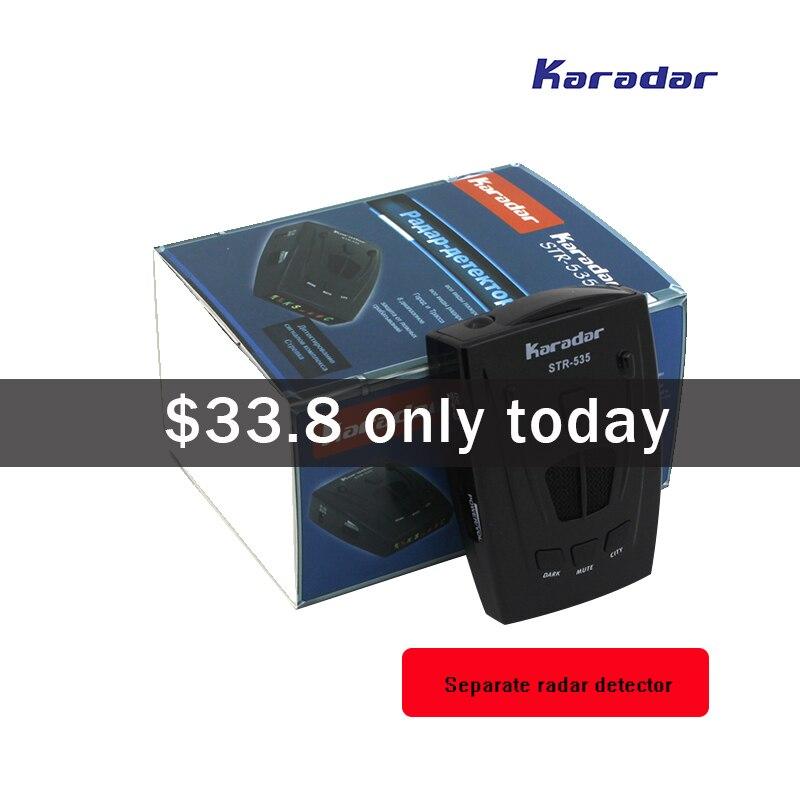 KARADAR Voiture radar Détecteur STR535 Icône Affichage X K Laser Strelka Anti Détecteur de Radar Qualité purement mobile caméra détecteur - 6