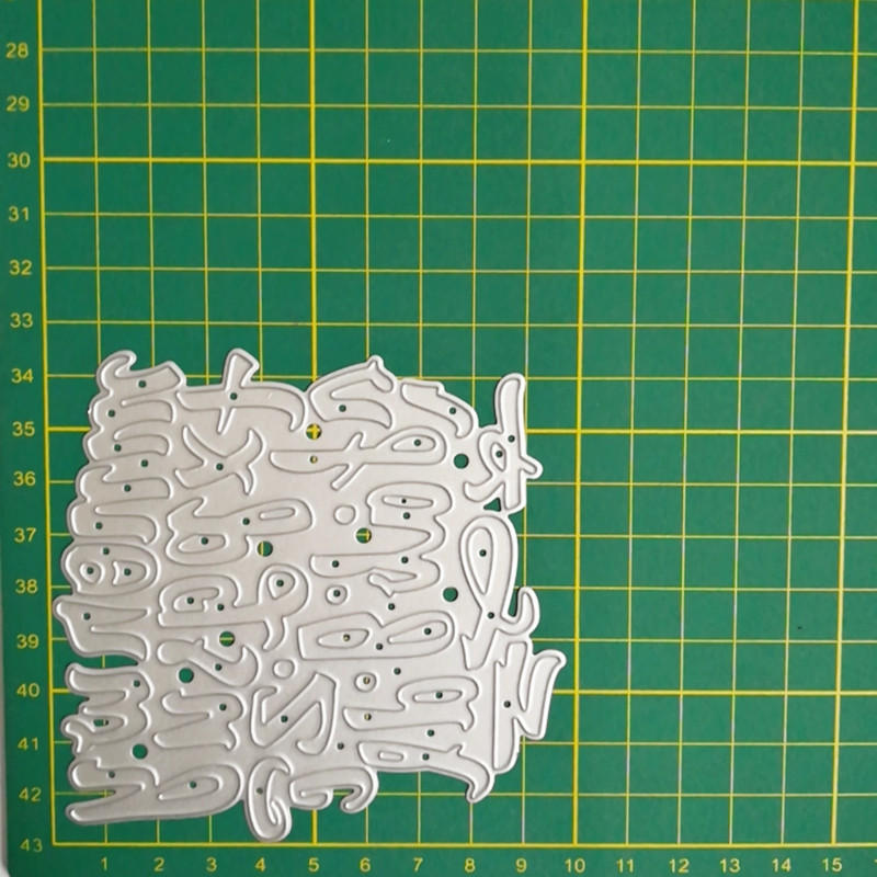 26pcs English Letters Alphabet Metal Cutting Dies for DIY Creative Embossing Photo Album Scrapbook Paper Craft Stamps 105 115mm in Cutting Dies from Home Garden