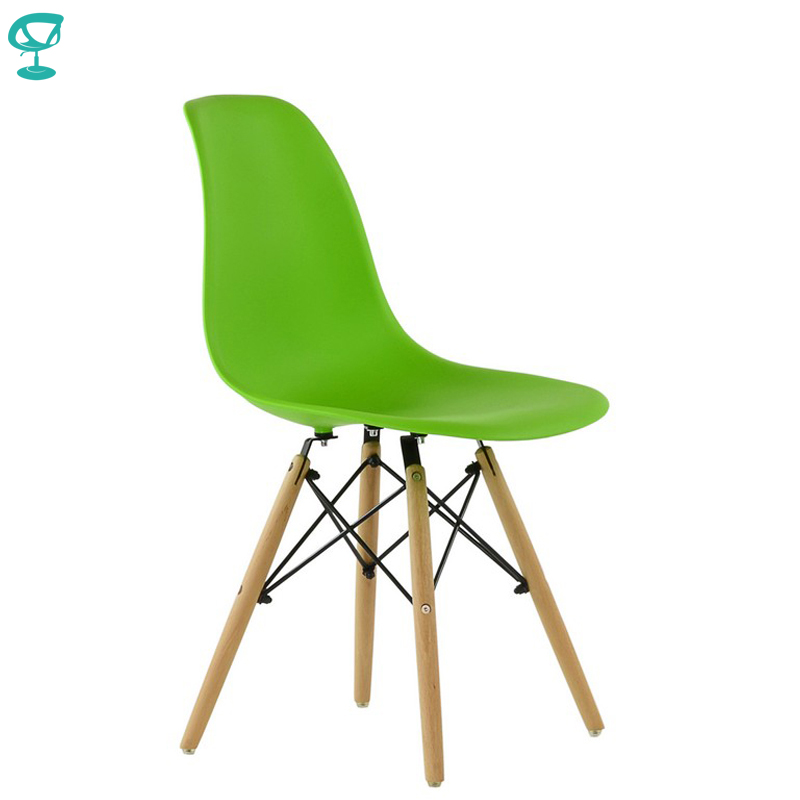 95362 Barneo N-12 Plastic Wood Kitchen Breakfast Interior Stool Bar Chair Kitchen Furniture Light Green Free Shipping In Russia