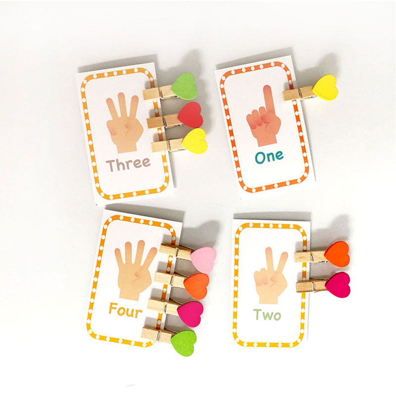 Children English Learning Montessori Educational Toys Word Table Game Card Language Word Educational Learning Toys H286Z