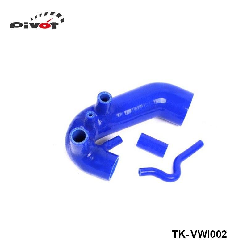 Silicone Intercooler Turbo Boost Induction Intake Hose Kit For VW Passat 1.8T B5 96-01 (3pcs) TK-VWI002 gplus silicone intercooler turbo pipe hose kit for audi a4 vw passat b5 1 8t 94 05