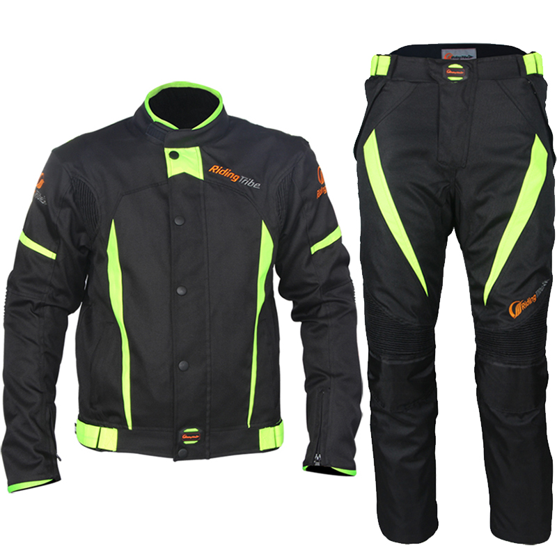 Motocross suit riding tribe motorcycle racing suit off road jackets pants suit waterproof Rally with linning