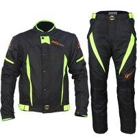 Мотокросс костюм езда племя мотоцикл гоночный костюм внедорожные куртки брюки костюм водостойкий ралли с линнингом и протекторами S37