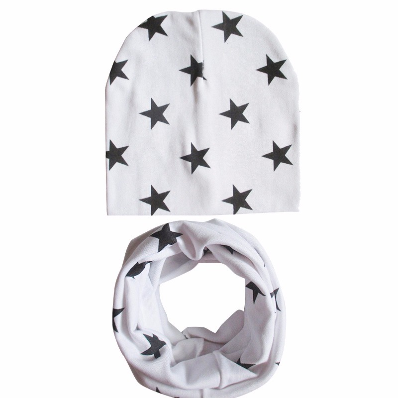 41 Types New Toddler Children's Beanie Head Cap Dome Baby Accessories Collar Scarf Small Star Hat Infant Cotton Cap years old 4