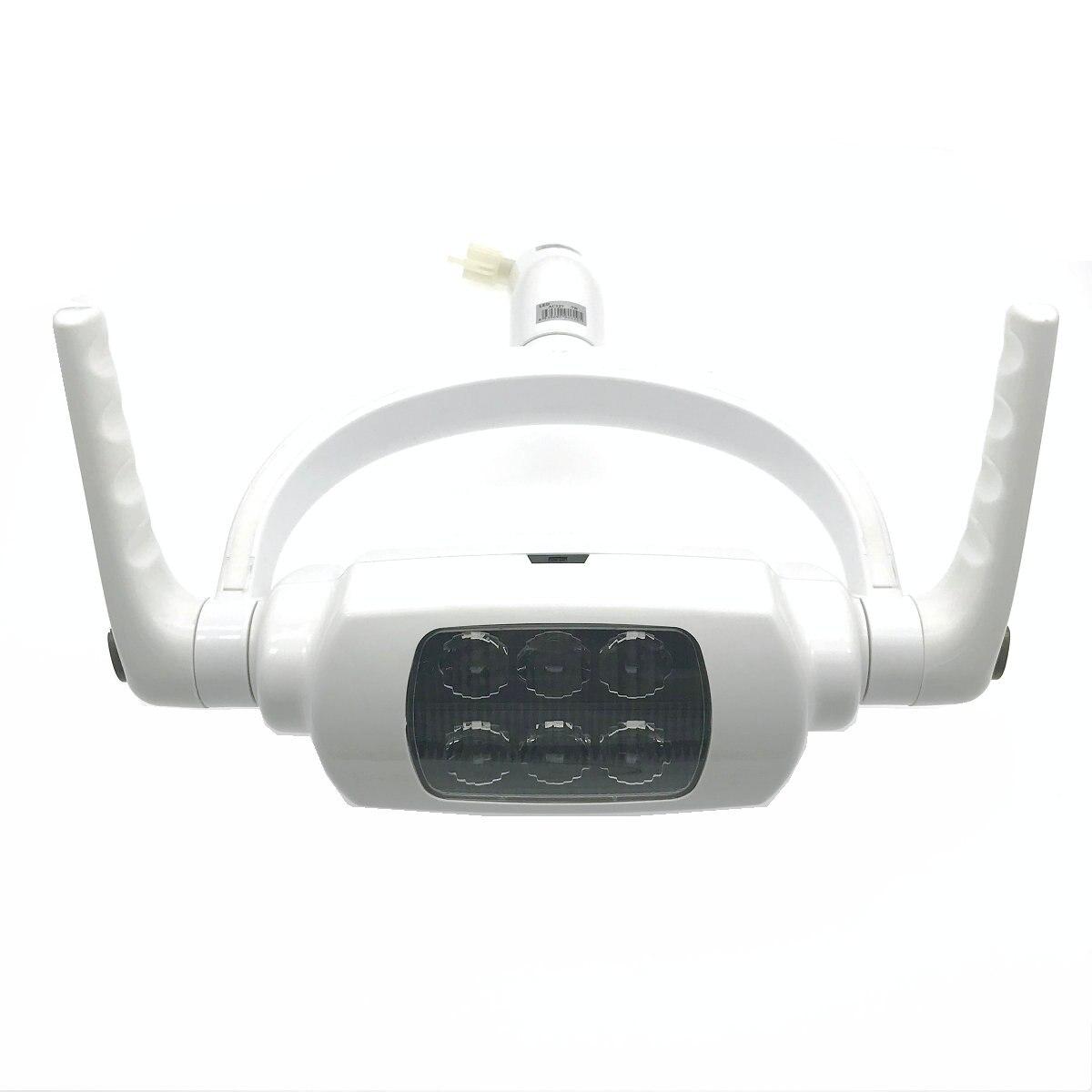Haute qualité ombre dentaire LED lampe orale pour unité dentaire avec capteur interrupteur manuel