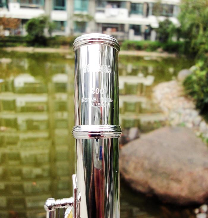 100% Japan flute YFL 212SL 16 hole E key closed hole flauta C flute professional music instrument flauta transversal With box