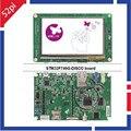 Kit Descoberta STM32F7 STM32F746G-DISCO com STM32F746NG MCU ST-LINK/Placa de Desenvolvimento V2-1