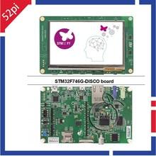 STM32F746G-DISCO STM32F7 Descubrimiento Kit con STM32F746NG MCU ST-LINK/V2-1 Placa de Desarrollo