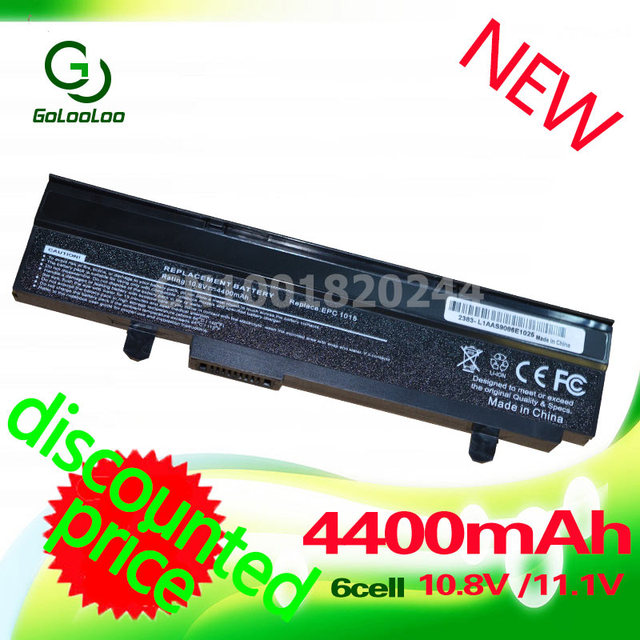 Golooloo 4400mAh 6 Cell Black A32-1015 Battery For Asus EEE PC 1011 1015 1016 1215 1015P 1015PE 1015PW 1016 1016P A31-1015