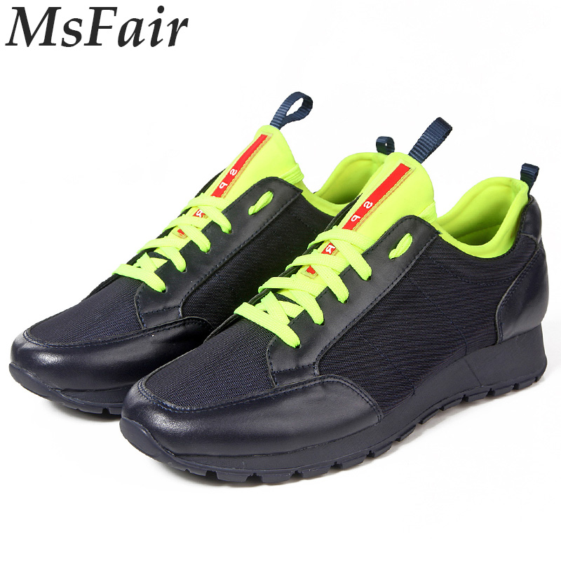 MSFAIR 2018 New Men Running Shoes Outdoor Athletic Walking Shoes Sport Shoes For Men Men Sneakers Sports Run Super Light Brand xtep men running shoes 2016 sports shoes men s athletic sneakers air mesh cheap run shock resistance trainers shoes cushioning