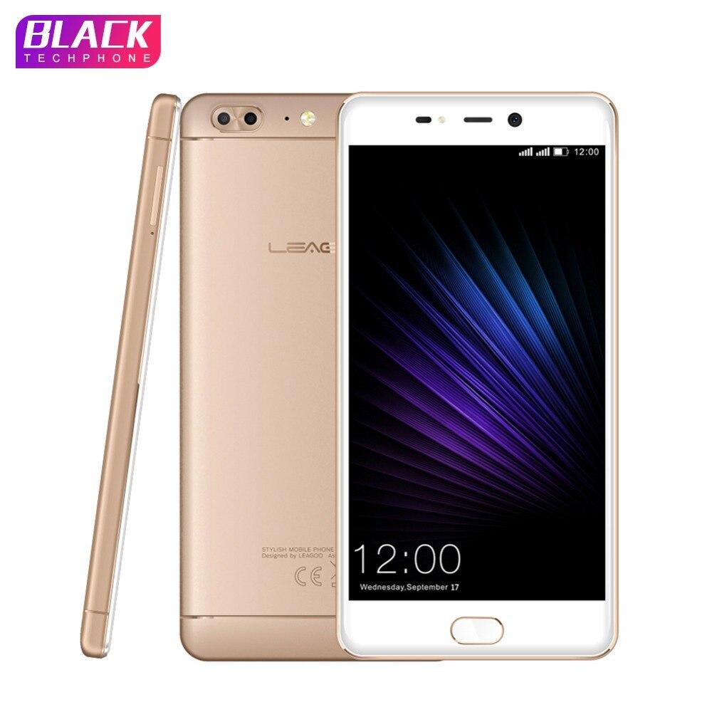 LEAGOO T5 del telefono 4 gb 64 gb 5.5 pollice FHD MTK6750T Octa Core per smartphone android 7.0 13MP Dual Camera 3000 mah Impronte Digitali 4g Mobile