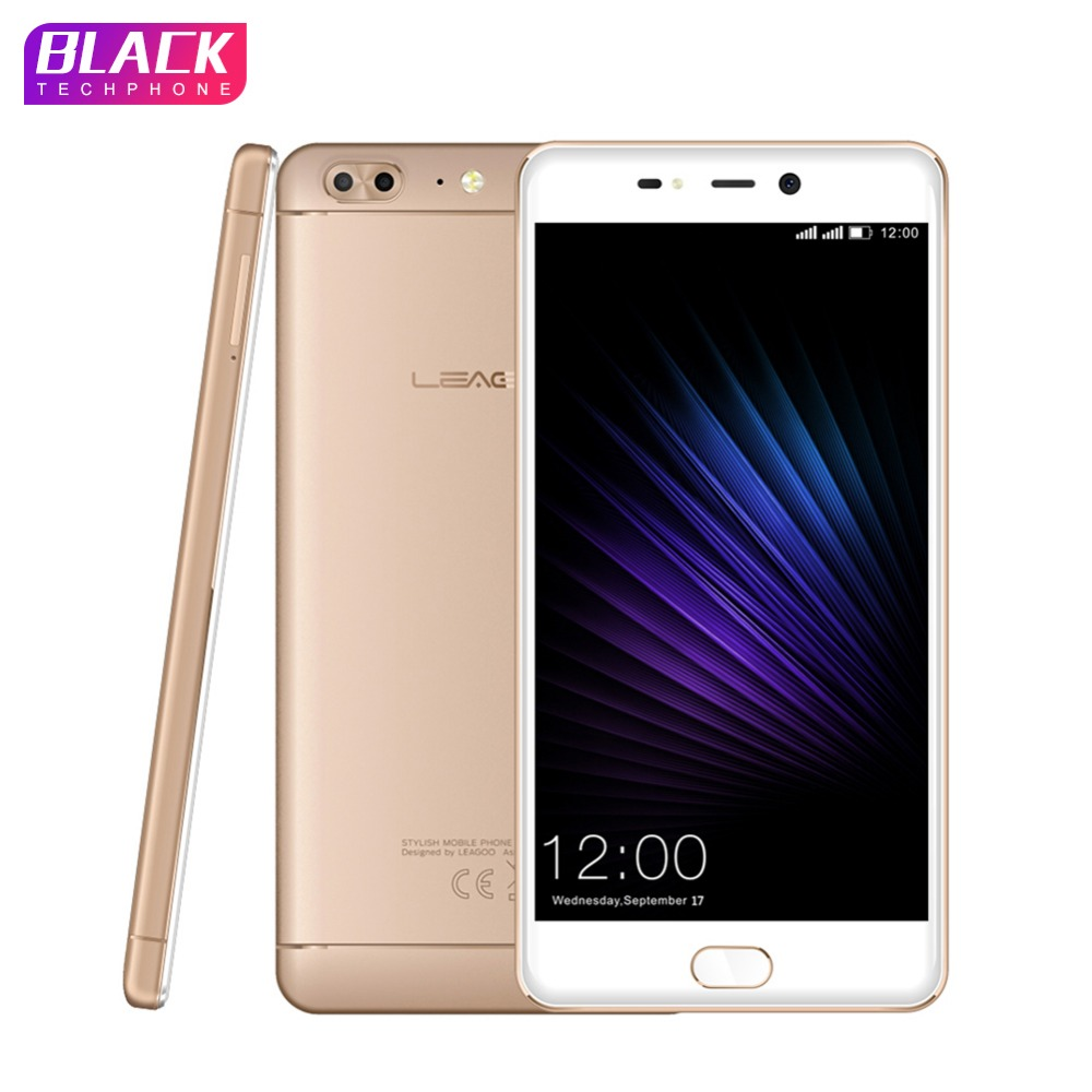 LEAGOO T5 téléphone 4 gb 64 gb 5.5 pouce FHD MTK6750T Octa base smartphone android 7.0 13MP Double Caméras 3000 mah D'empreintes Digitales 4g Mobile