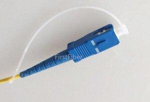Image 4 - 1000 piezas SC LC Cadena de tapas de polvo, tapón de polvo de cola larga FC/ST adaptador tapas de polvo, conector de fibra óptica tapas antipolvo 1,25mm, 2,5mm