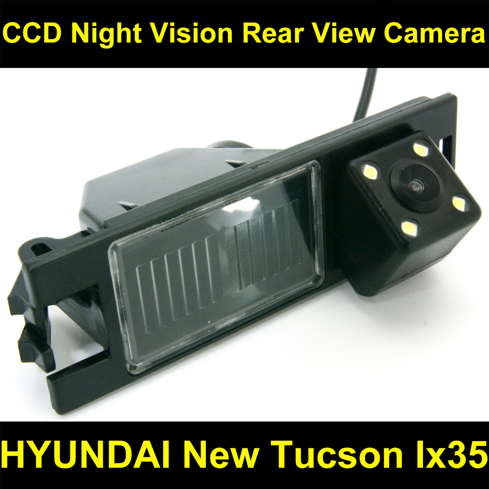 Rear view Camera BackUp Reverse Parking Camera for Hyundai New Tucson IX35 2006 2007 2008 2009 2010 2011 2012 2013 2014 8087LED for hyundai ix35 tucson 2010 2011 2012 auto front