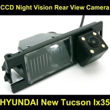 Заднего вида Камера Обратный Парковка Камера для Hyundai Новый Tucson ix35 2006 2007 2008 2009 2010 2011 2012 2013 2014 8087led