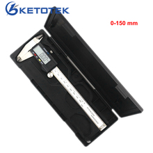 High quality 0-150mm Measuring Tool Stainless Steel Caliper Digital Vernier Caliper Gauge Micrometer Paquimetro Messschieber