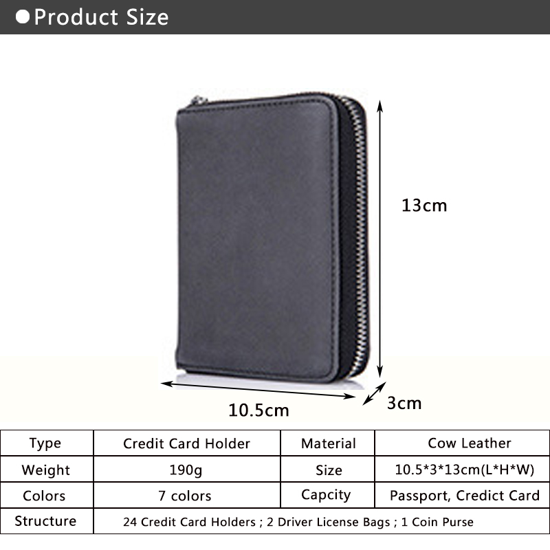 Women Passport Holder Cover Case Travel Passport Credit ID Card Cash Wallet Driver Documents Cover