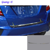 For Honda Fit Jazz 2014 2015 2016 2017 Car Styling Body Rear Door Tailgate Bumper Frame