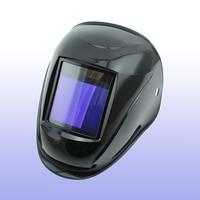 Escurecimento automático de soldagem capacete/máscara de solda/MIG MAG TIG (Grand-918I PRETO)/4arc/sensor de Energia Solar celular & Substituível baterias Li-