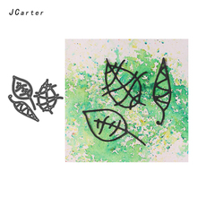 JC  Metal Cutting Dies for Scrapbooking Cut 3pcs Special Leaf Stencil Handmade Paper Card Making Model Decoration 2019 Die
