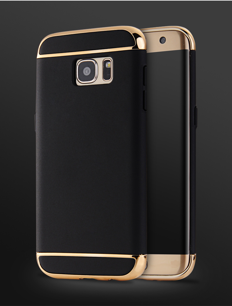 For samsung <font><b>J3</b></font> J5 J7 2015 prime j310 j510 j710 Hard Cover Bag 3 in 1 Electroplating Hard PC Back <font><b>Phone</b></font> <font><b>Case</b></font> for s6 s7 edge note