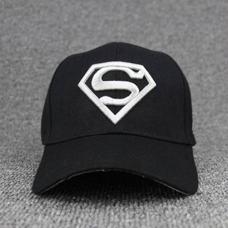 afe228e3b2e 2018 New Letter Superman Cap Casual Outdoor Baseball Caps For Men Hats  Women Snapback Caps For Adult Sun Hat Gorras wholesale-in Baseball Caps  from Apparel ...