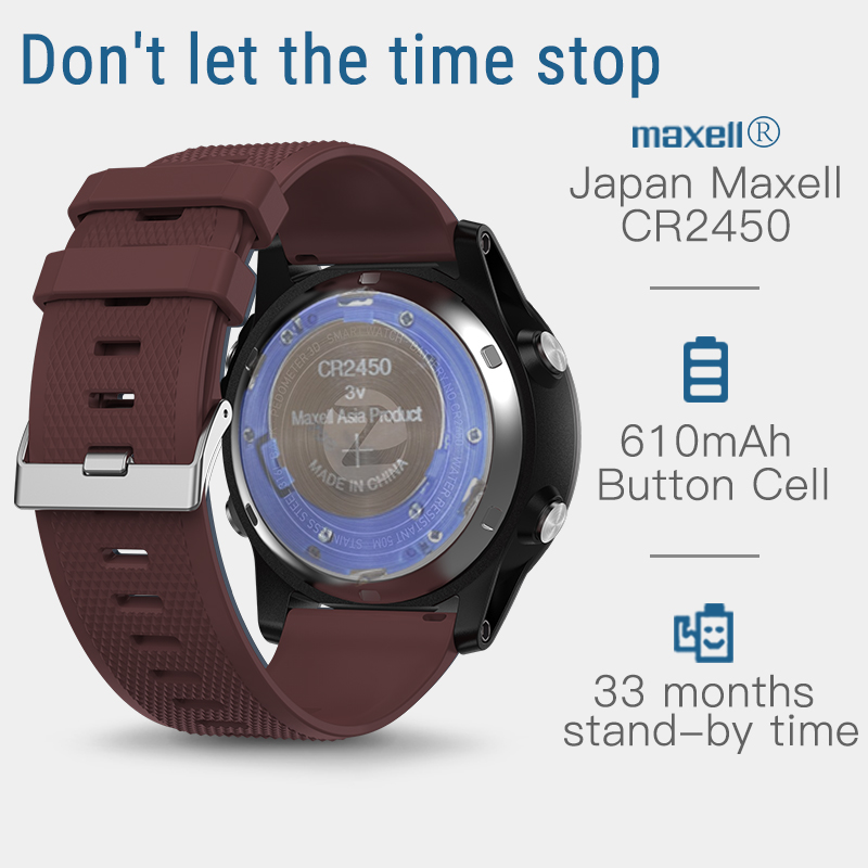 33-month Standby Time 24h All-Weather Monitoring Smart Watch 5