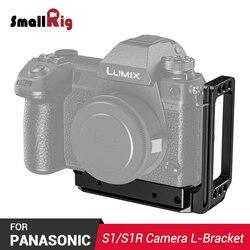 SmallRig szybkie uwolnienie uchwyt L dla Panasonic Lumix DC S1 i S1R L płyta regulowany 2354|Monopody|   -