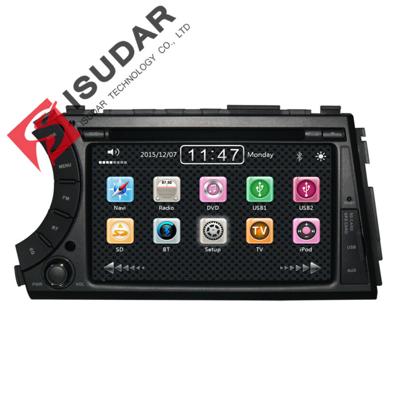 Wholesale 2 Din 7 Inch font b Car b font DVD Player For SSANGYONG Actyon Kyron